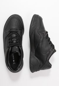 Lacoste - COURT SLAM - Sneakers laag - black - 3