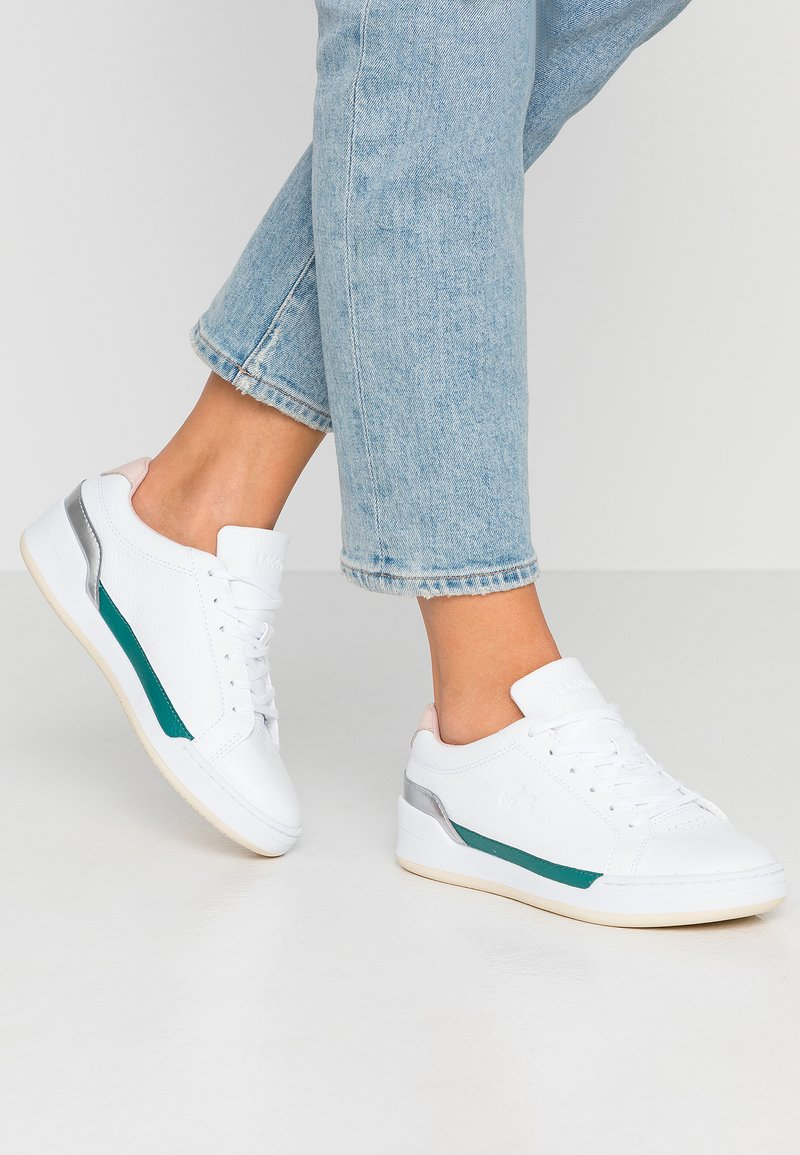 Lacoste - CHALLENGE  - Sneaker low - white/nature