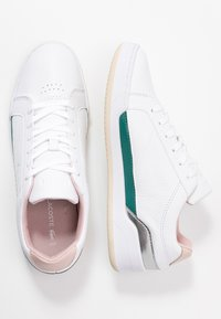 Lacoste - CHALLENGE  - Sneaker low - white/nature - 3