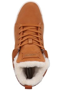 Lacoste - Baskets montantes - brown/off white - 1