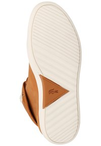 Lacoste - Baskets montantes - brown/off white - 4