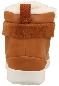 Lacoste - Baskets montantes - brown/off white - 3