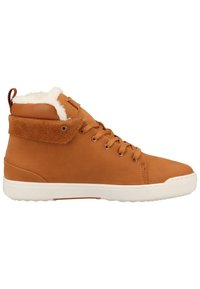 Lacoste - Baskets montantes - brown/off white - 6