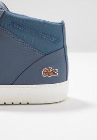 Lacoste - AMPTHILL - Sneaker high - dark blue/offwhite - 2