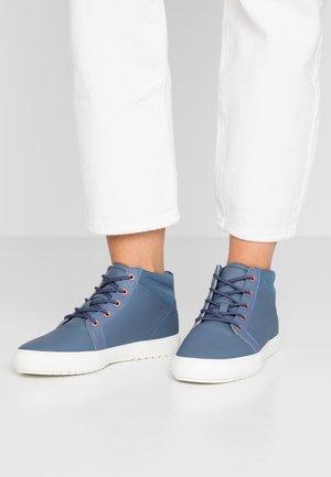 AMPTHILL - Sneaker high - dark blue/offwhite