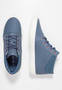 Lacoste - AMPTHILL - Sneaker high - dark blue/offwhite - 3