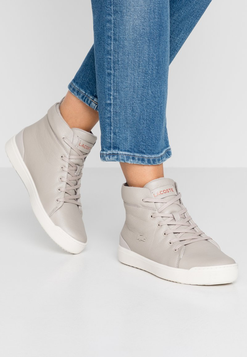 Lacoste - EXPLORATEUR CLASSIC - High-top trainers - grey/offwhite