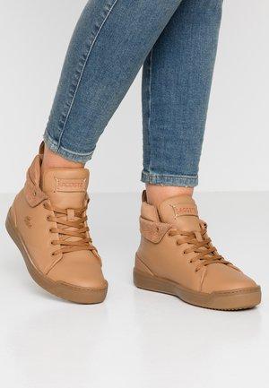 Sneaker high - light brown