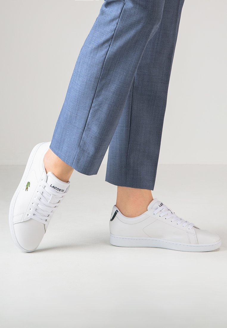 Lacoste - CARNABY - Sneakers laag - white