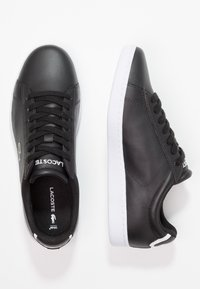 Lacoste - CARNABY - Sneakers laag - black - 3