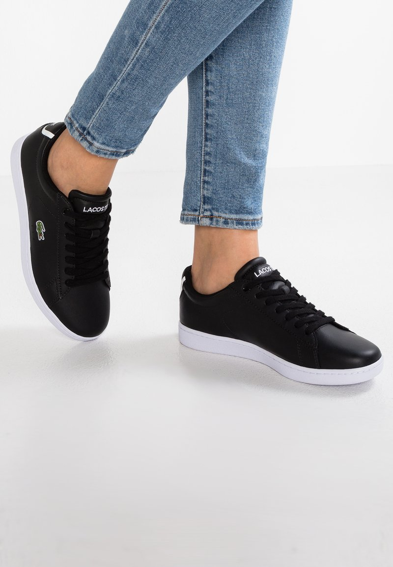 Lacoste - CARNABY - Sneakers laag - black