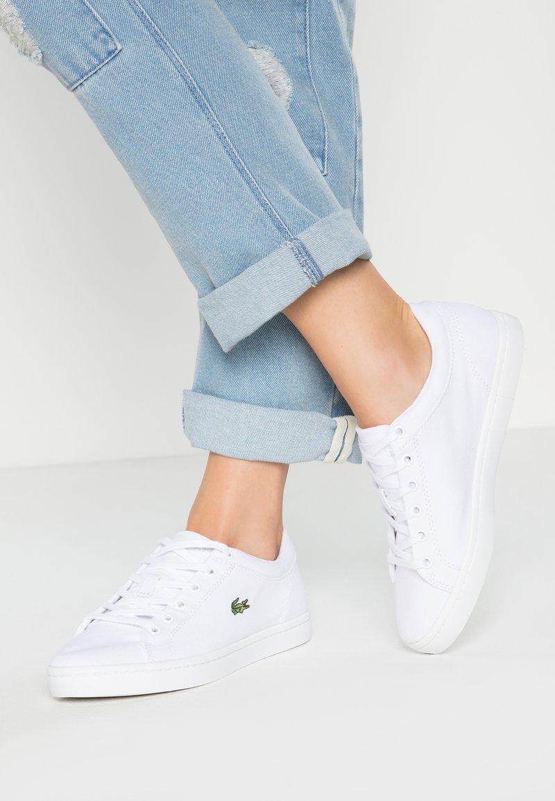 Lacoste - STRAIGHTSET BL 2 - Sneaker low - white