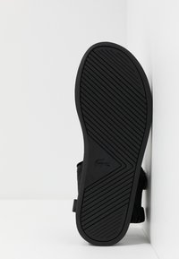 Lacoste - SURUGA - Sandals - black/dark grey - 4