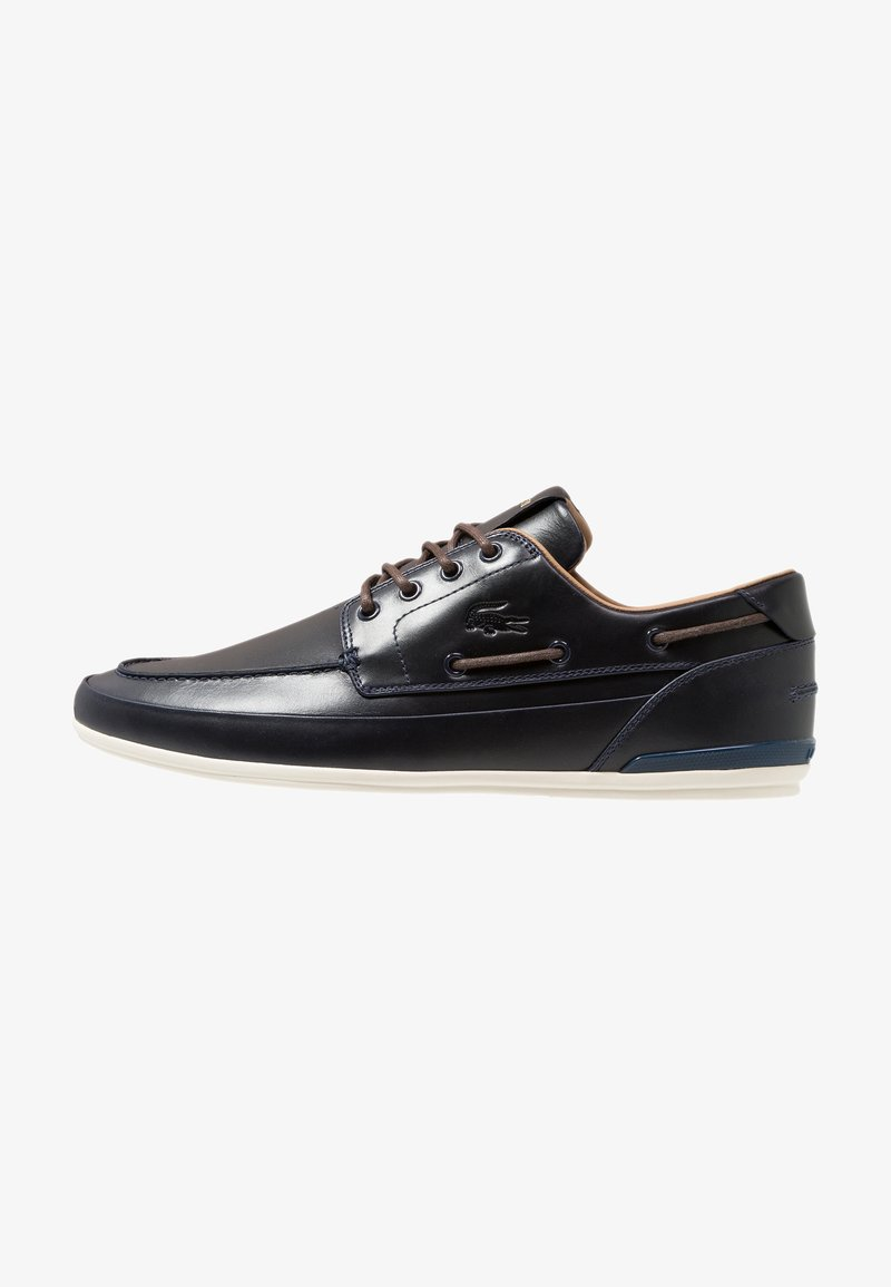 Lacoste - MARINA - Boat shoes - navy