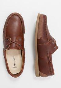 Lacoste - NAUTIC - Chaussures bateau - tan - 1