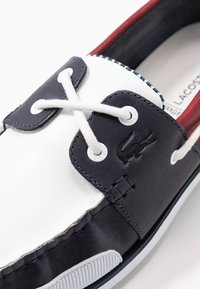 Lacoste - NAUTIC - Náuticos - navy/white/dark red - 5
