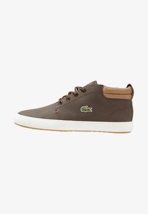 AMPTHILL TERRA - High-top trainers - dark brown/light brown