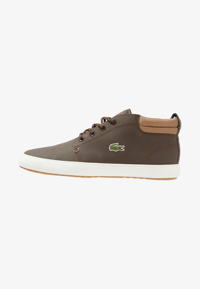 AMPTHILL TERRA - Sneakers high - dark brown/light brown