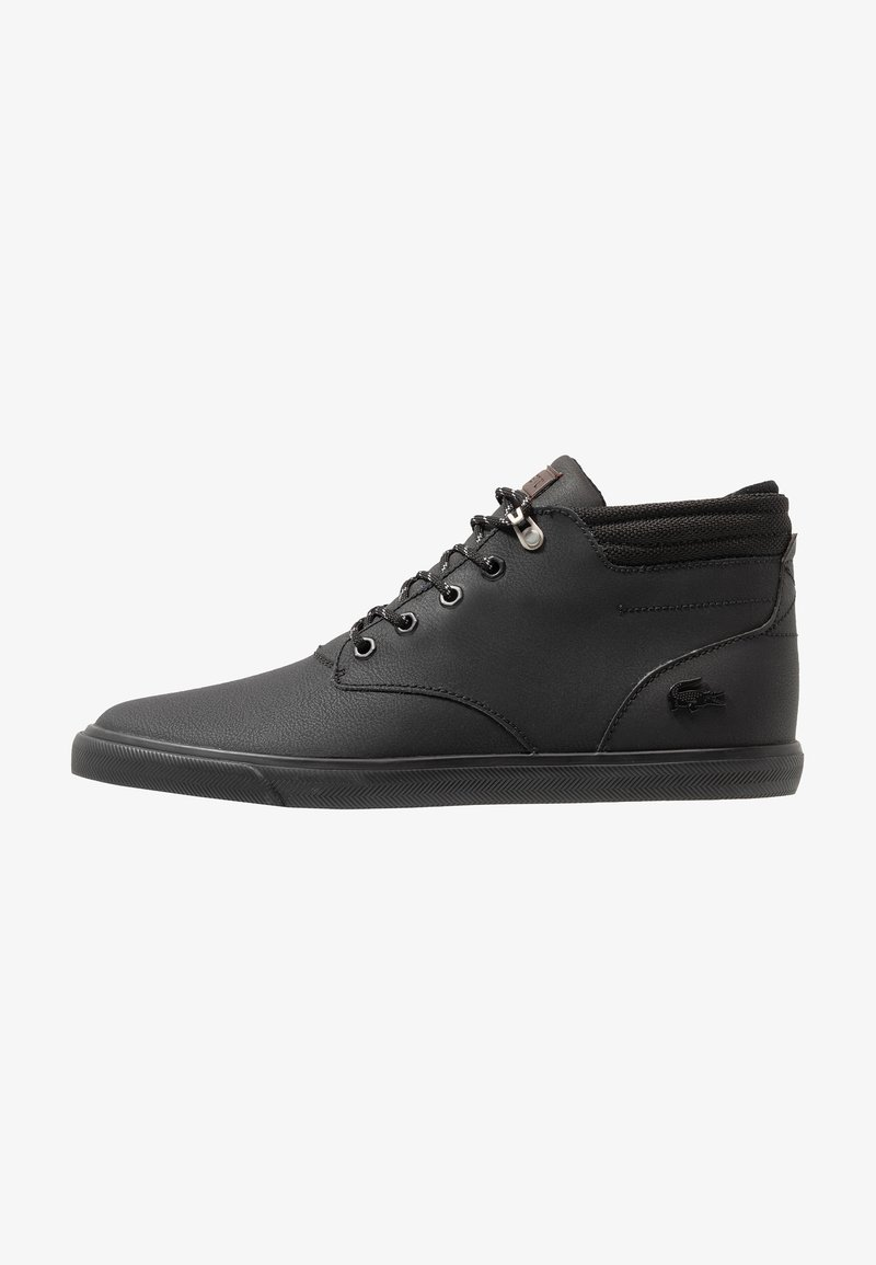 Lacoste - ESPARRE WINTER - High-top trainers - black