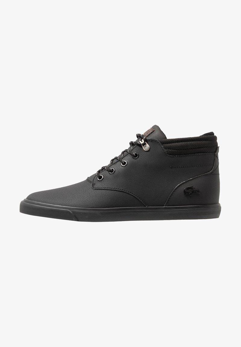 Lacoste - ESPARRE WINTER - Sneakers hoog - black