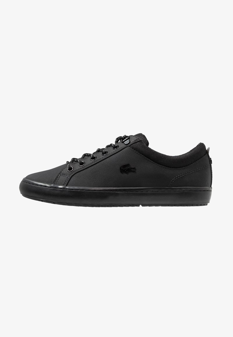 Lacoste - STRAIGHTSET INSULATE - Sneakers laag - black