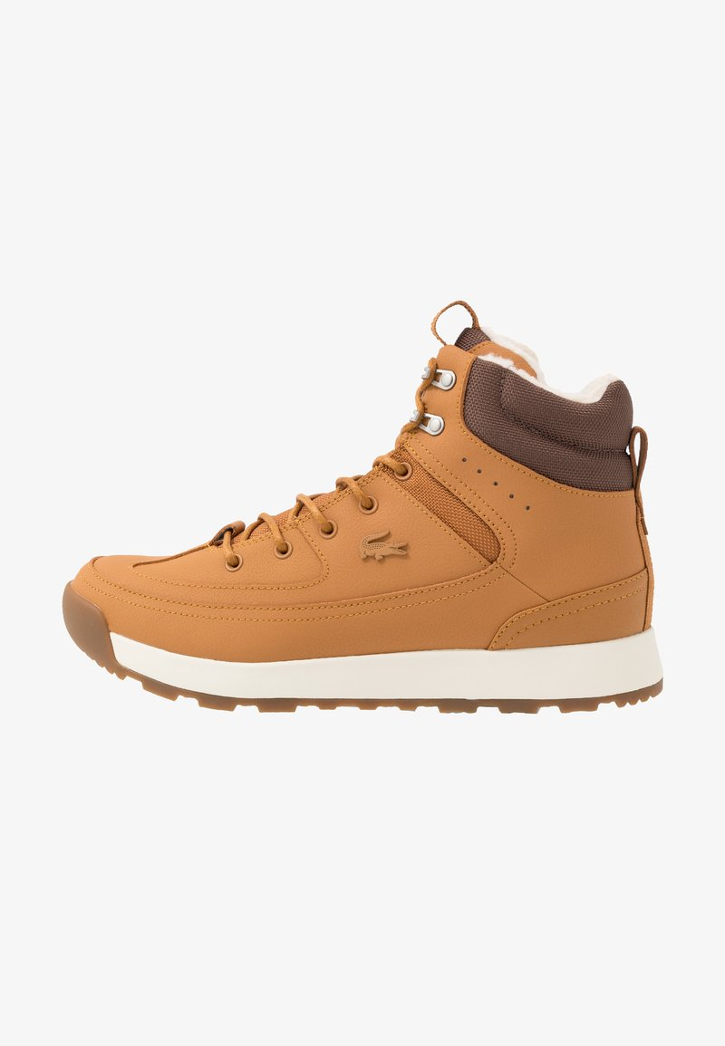 Lacoste - URBAN BREAKER - Zapatillas altas - tan/brown