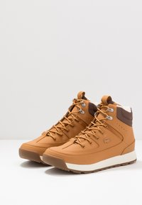 Lacoste - URBAN BREAKER - Sneaker high - tan/brown - 2