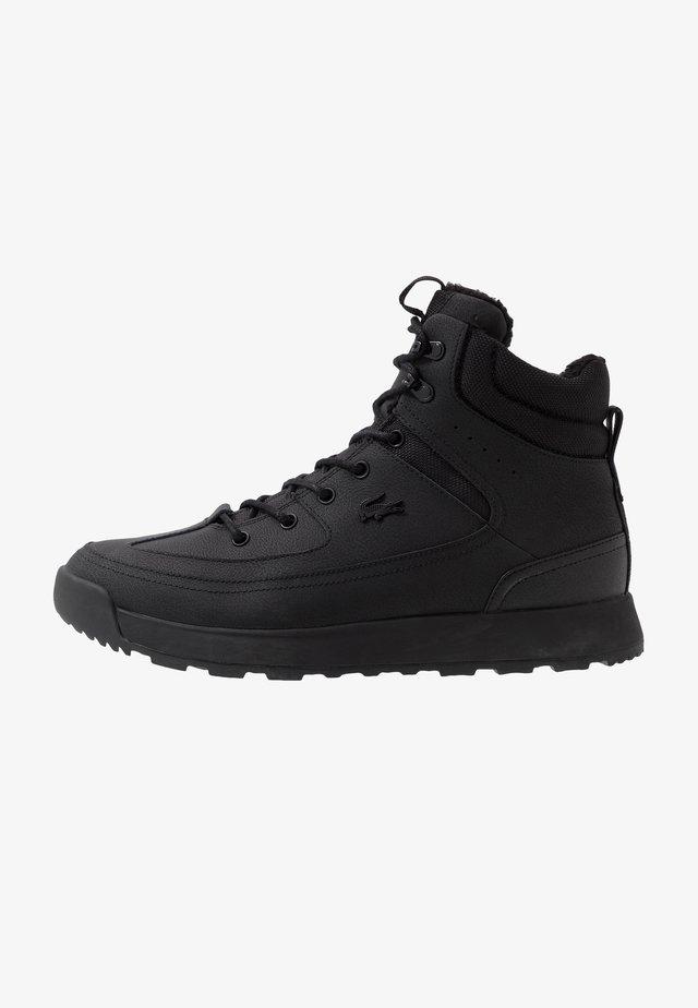 URBAN BREAKER - Sneakers hoog - black