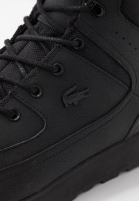 Lacoste - URBAN BREAKER - Zapatillas altas - black - 5