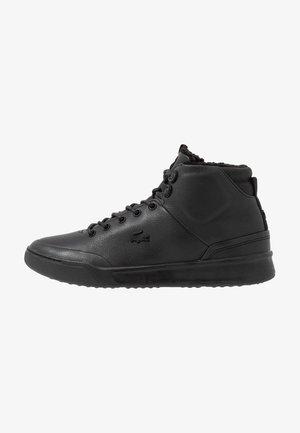 EXPLORATEUR THERMO - Höga sneakers - black