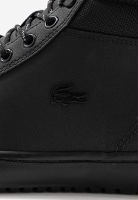 Lacoste - STRAIGHTSET THERMO - Sneakersy wysokie - black - 5