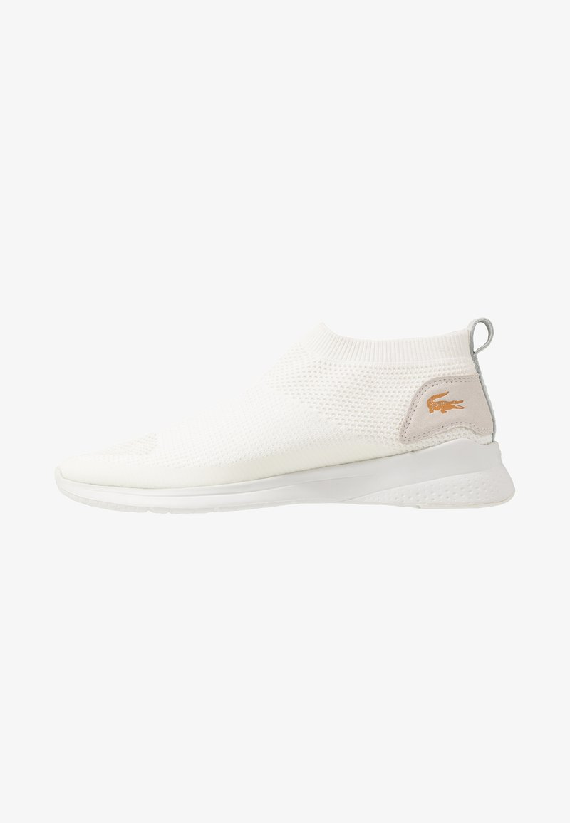 Lacoste - FIT SOCK - High-top trainers - white/orange
