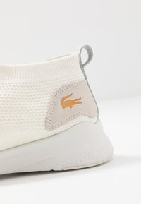 Lacoste - FIT SOCK - High-top trainers - white/orange - 5