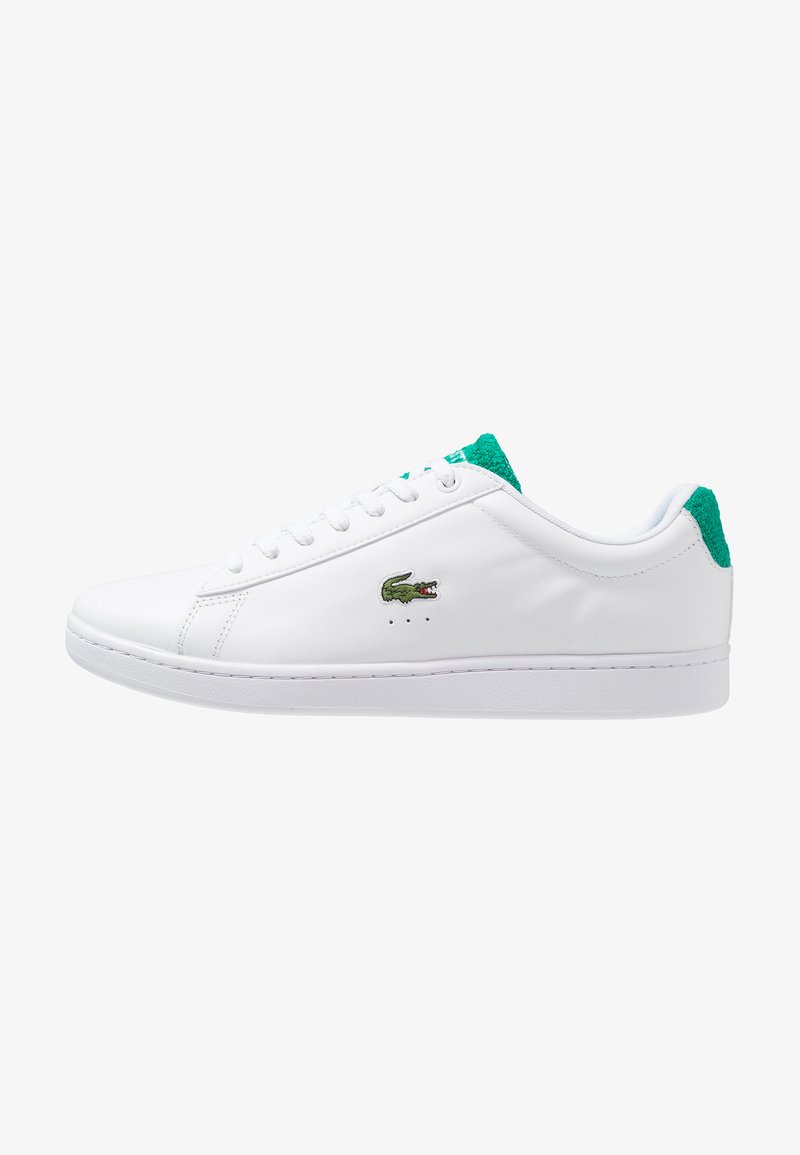 Lacoste - CARNABY EVO - Baskets basses - white/green