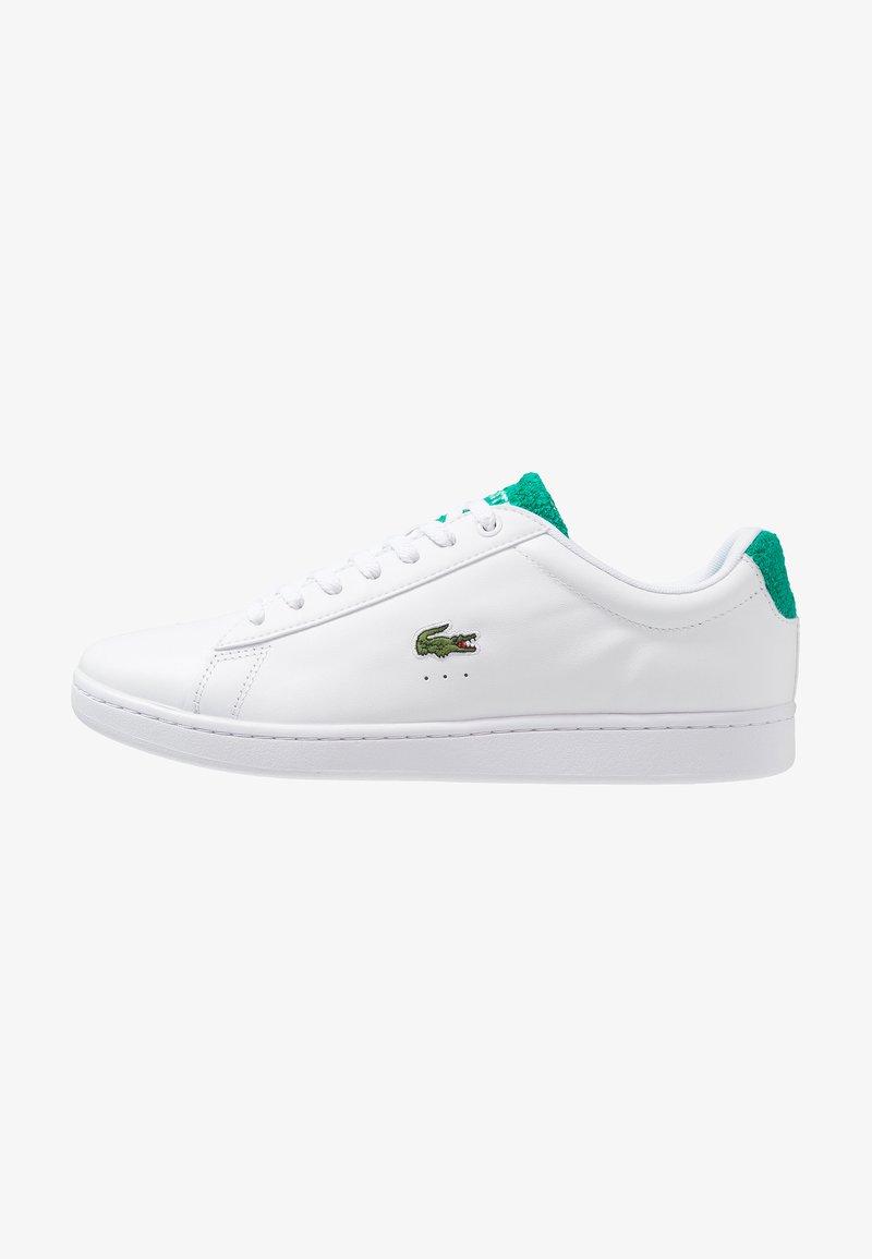 Lacoste - CARNABY EVO - Sneaker low - white/green