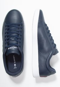 Lacoste - CARNABY EVO - Joggesko - navy/white/red - 1