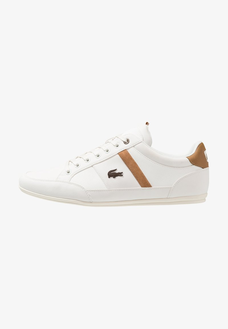 Lacoste - CHAYMON - Trainers - off white/light brown