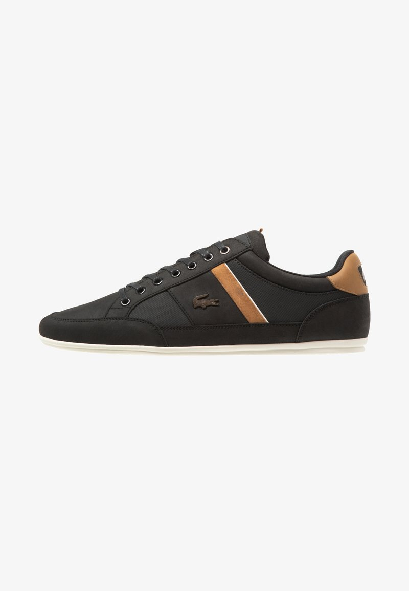 Lacoste - CHAYMON - Trainers - black/light brown