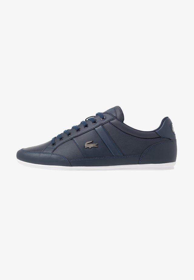 CHAYMON - Sneakers laag - navy/white