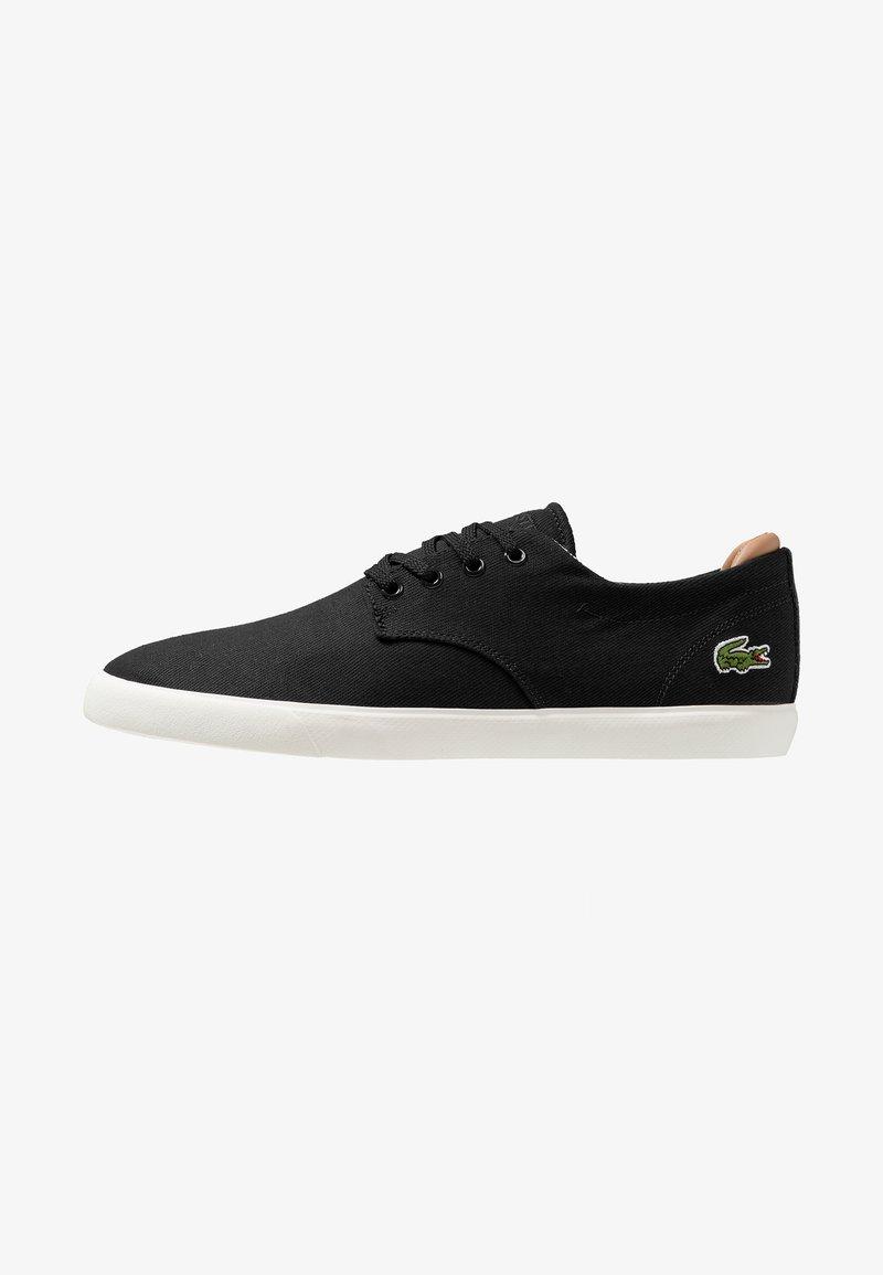 Lacoste - ESPARRE - Zapatillas - black