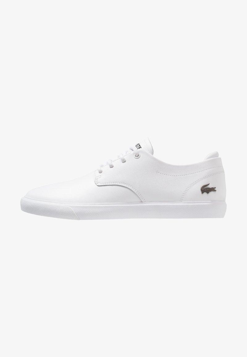 Lacoste - ESPARRE - Zapatillas - white