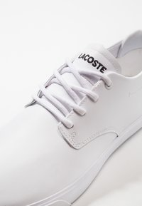 Lacoste - ESPARRE - Sneakersy niskie - white - 5