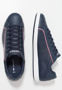 Lacoste - GRADUATE - Tenisky - navy/white/red - 1