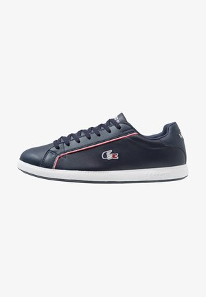 GRADUATE - Sneaker low - navy/white/red