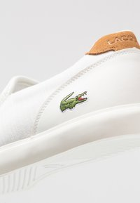 Lacoste - JOUER - Mocassins - offwhite/light brown - 5