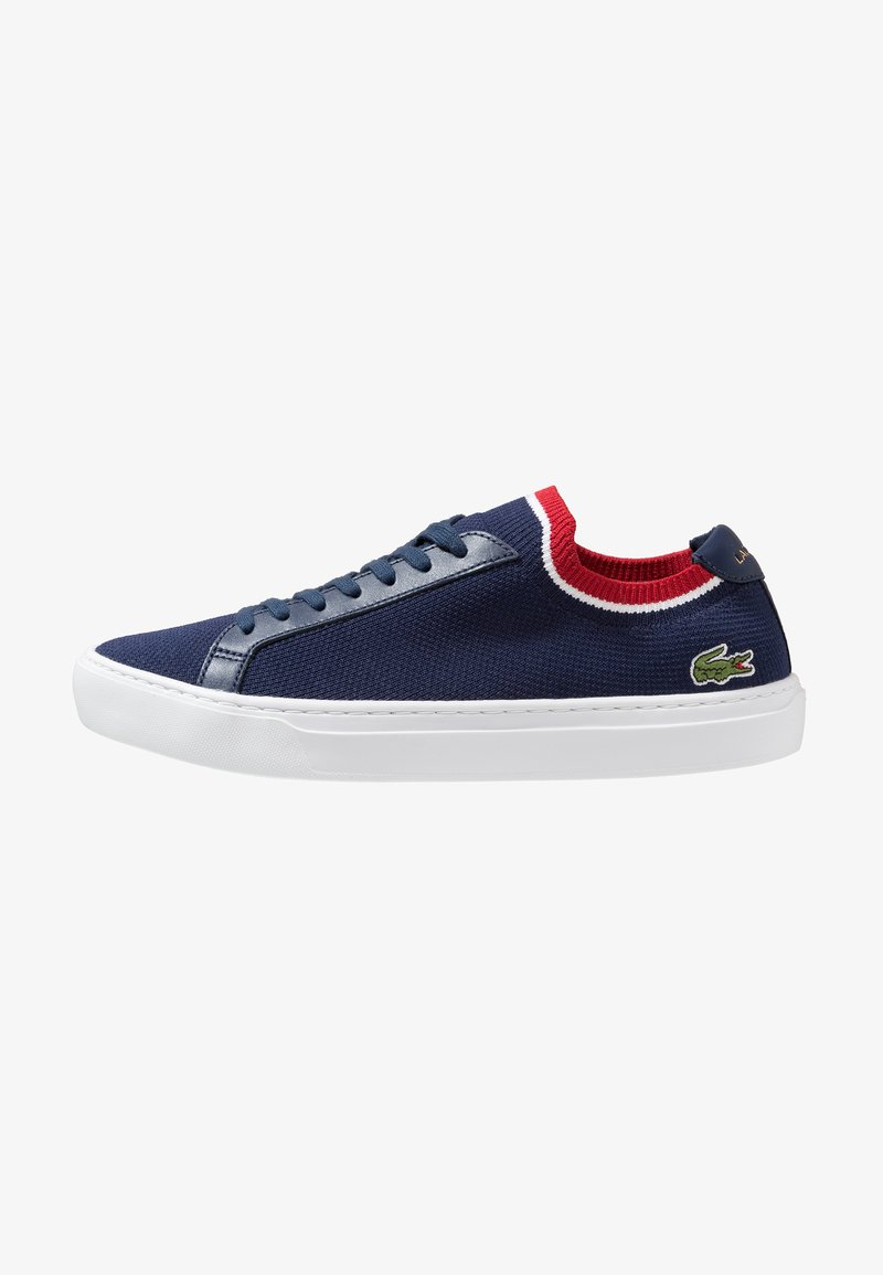Lacoste - LA PIQUÉE - Sneaker low - navy/white/red