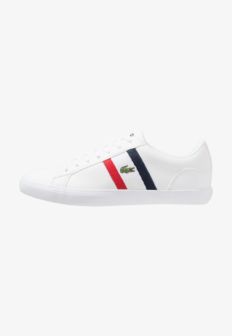 Lacoste - LEROND - Sneaker low - white/red/navy