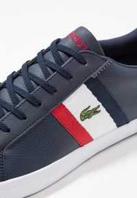 Lacoste - LEROND - Baskets basses - navy/white/red - 5
