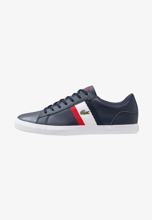 LEROND - Matalavartiset tennarit - navy/white/red