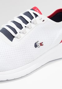 Lacoste - FIT - Trainers - white/navy/red - 6